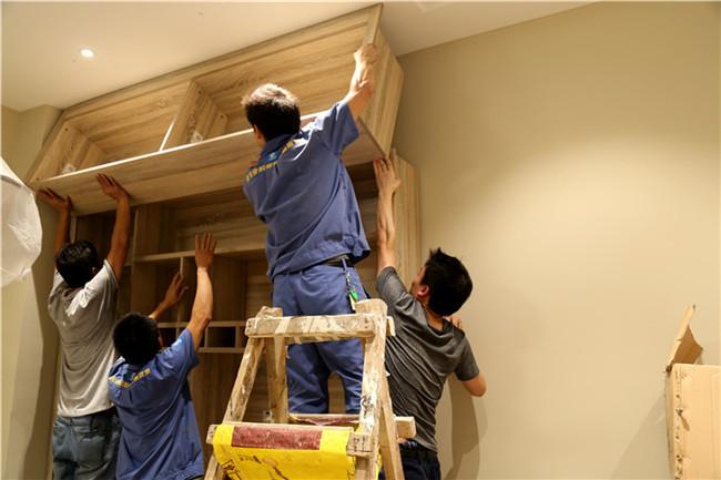 深圳市东方玫瑰园定制衣柜家具安装工程案例