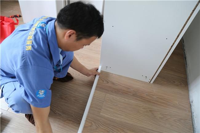 深圳市宝安区圣淘沙定制衣柜安装工程案例