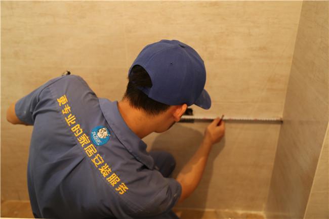 深圳市星海名城橱柜安装工程案例