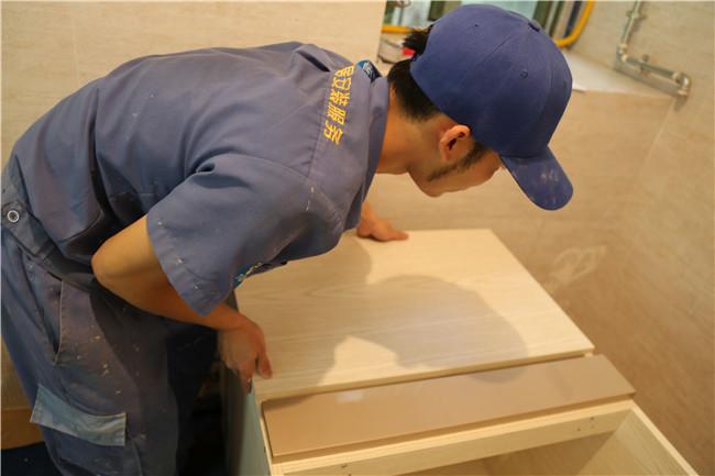 深圳市科迪阳光带海滨城橱柜安装工程案例