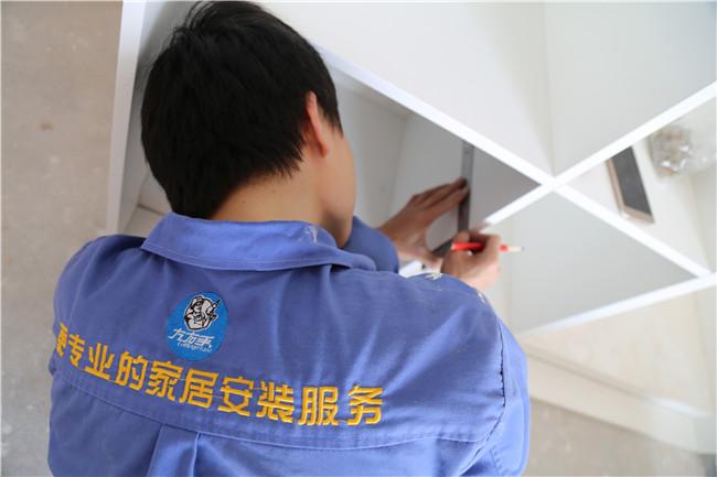 深圳市宝安区御龙湾衣柜安装工程案例