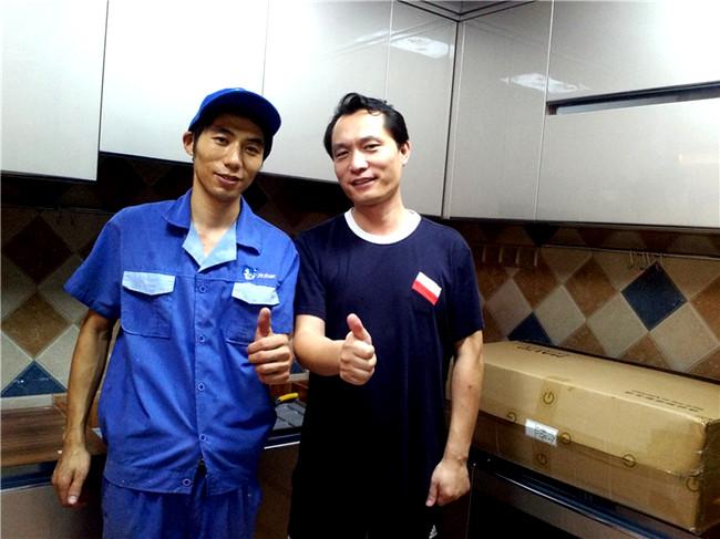 深圳市红树西岸隔断门安装工程案例