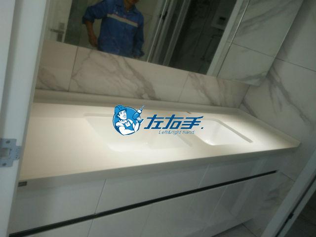 家具安装-浴室柜与台面这样装才完美!