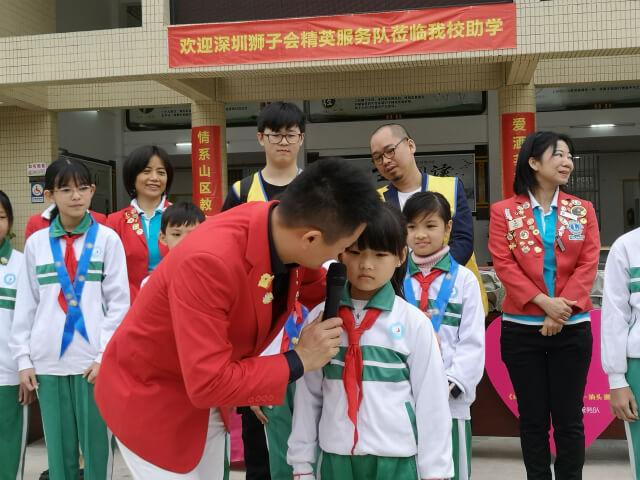 左右手创始人卢建华先生潮汕助学之行 - 让爱伴随他们成长!