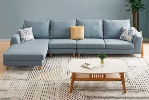 太容易脏了!布艺沙发该怎么清洗?
