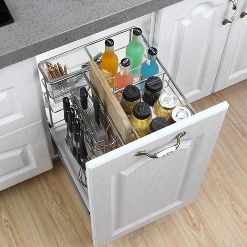 橱柜吊柜液压拉篮安装方法,专业的安装需要专业的方法