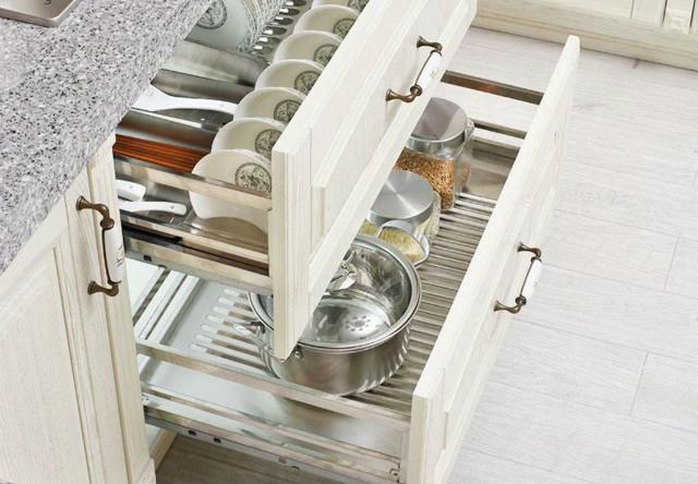 橱柜抽斗拉篮的安装方法,详细的攻略让你安装更简单