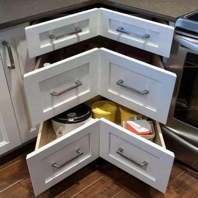 转角橱柜拉篮安装方法,提高现代家居生活空间利用率
