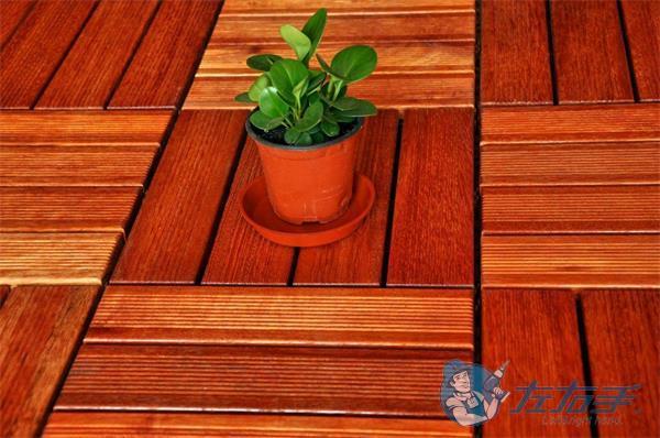 木塑室内地板安装方法及优点