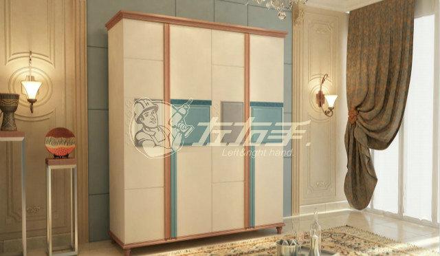 衣柜平开门怎么安装的方法是什么