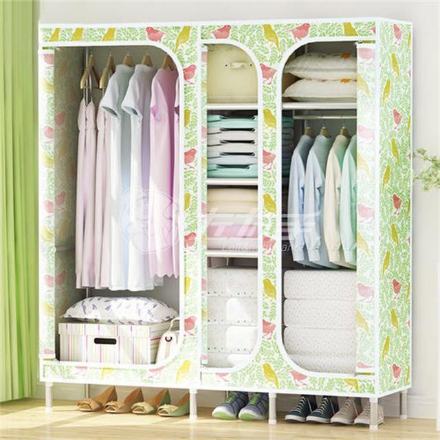 拉链布衣柜安装步骤图