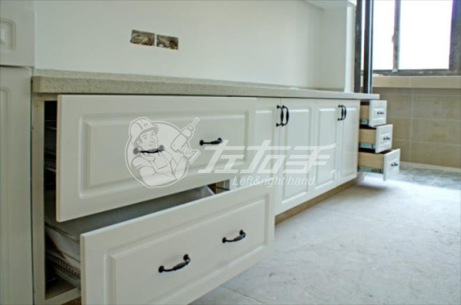 橱柜抽屉滑轨怎么安装?抽屉滑轨该预留多少尺寸?