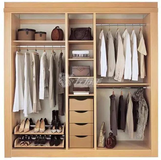 最合理的衣柜内部布局